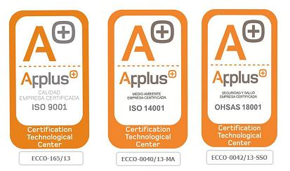 certificados calidad Viten