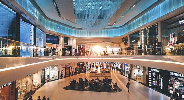 sistema seguridad centro comercial